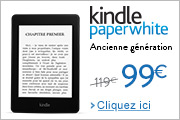 Kindle Paperwhite ancienne g�n�ration