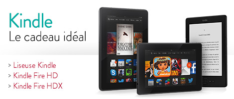 Kindle - le cadeau ideal