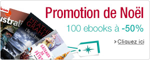 Plus de 100 ebooks � -50% ou plus