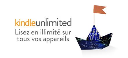 Kindle Unlimited : lisez en tout liberté