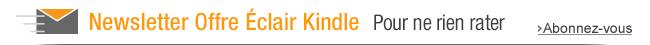 Offre Éclair Kindle