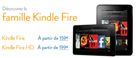 La Famille Kindle Fire