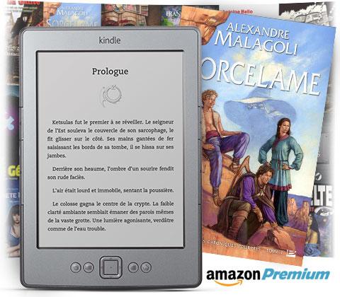 Biblioth�que de pr�t Kindle