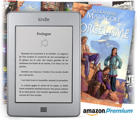Biblioth�que de pr�t Kindle