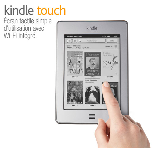 Liseuse Kindle Touch : courte prsentation