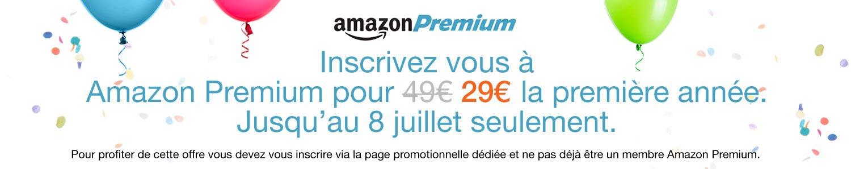 Promotion Amazon Premium