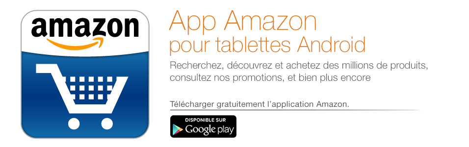 Application Amazon pour tablettes Android