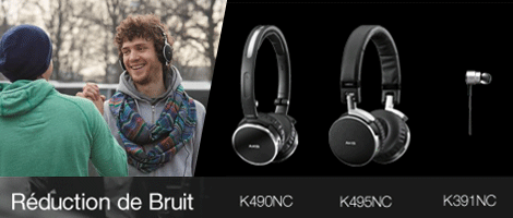 R�duction de bruit AKG
