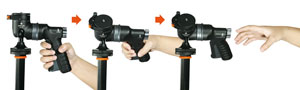 Ball/Grip Head 2-IN-1
