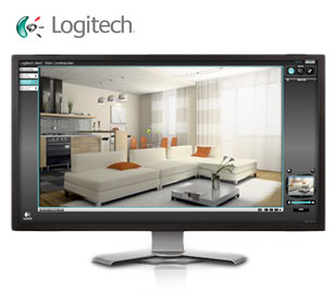 camera de video surveillance logitech alert system syst me de vid osurveillance complet. Black Bedroom Furniture Sets. Home Design Ideas