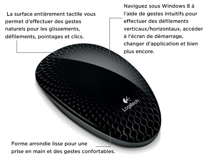 Logitech Touch Mouse T620