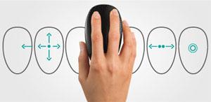 Logitech Touch Mouse T620