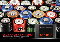 POWER SAVING - SanDisk Extreme SSD