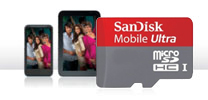 SanDisk Mobile Ultra SD HC