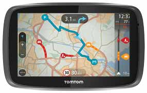 TomTom Traffic à vie connecté en permanence