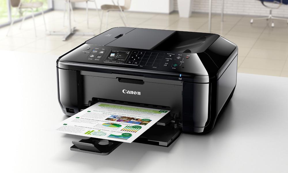 canon pixma mx525 imprimante multifonction usb wlan lan apple canon informatique. Black Bedroom Furniture Sets. Home Design Ideas
