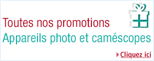 toutes les promotions photo et camescopes