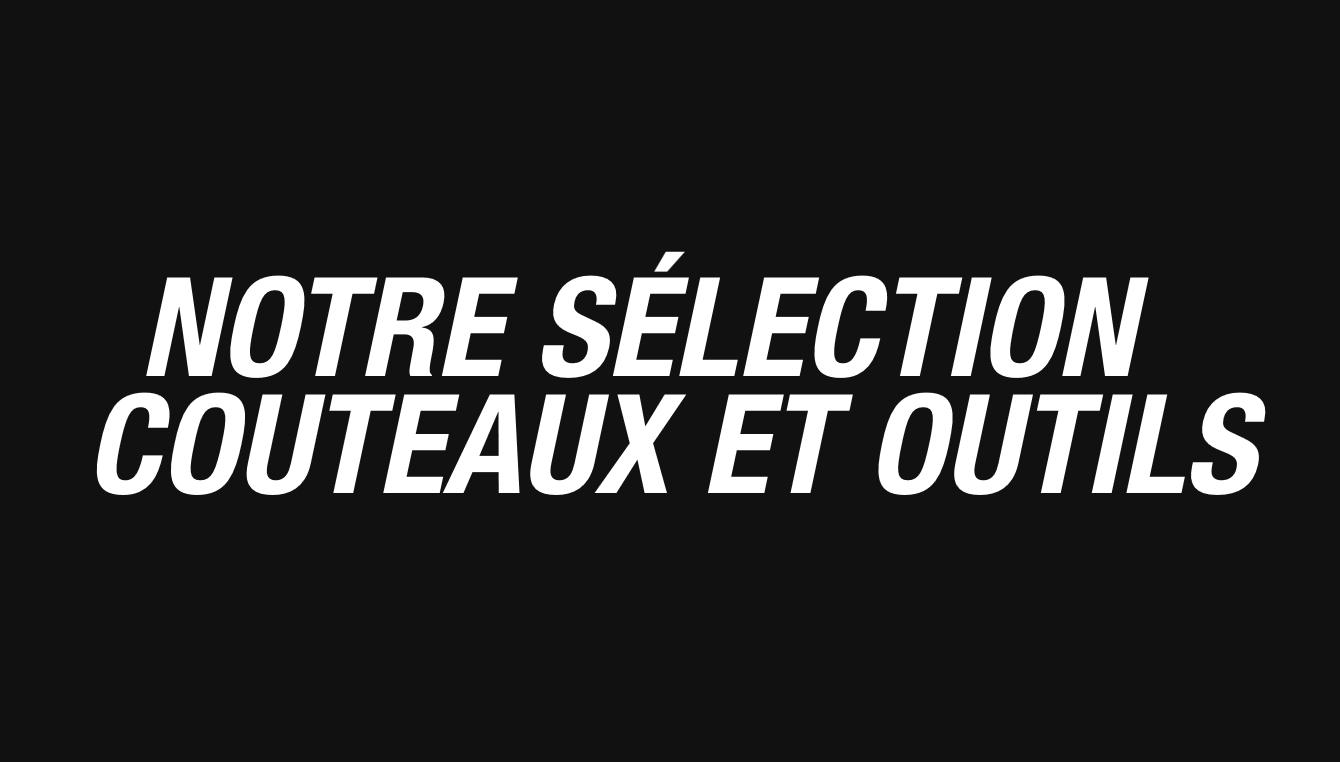 selection couteaux