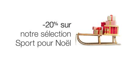 -20% sur une sélection sports pour Noël