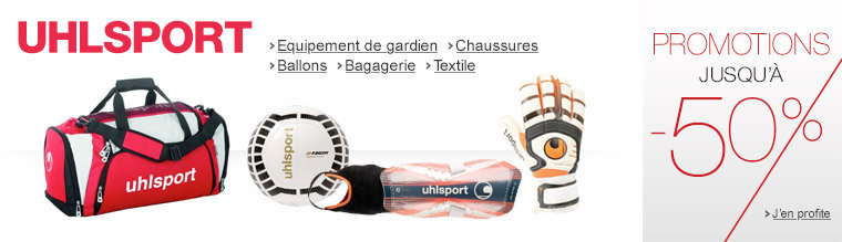 Uhlsport : �quipement pour le football