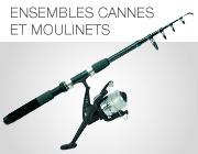 Ensemble cannes et moulinets