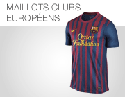 Maillots Clubs europ�ens