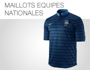 Maillots �quipes nationales
