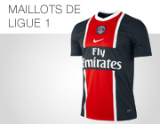 Maillots Ligue 1