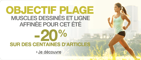 Objectif plage : -20% sur des centaines d'articles
