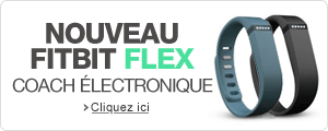Nouveau Fitbit Flex : coach �lectronique