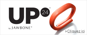 Tracker d'activit� Jawbone Up24