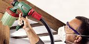 20 à 30€ de remise immédiate sur une sélection de pistolet à peinture Bosch