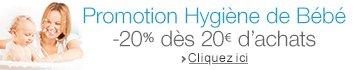 Promotion Hygiène de Bébé