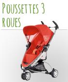 Poussette 3 roues bébé pas chère
