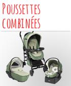 Poussette combinée bébé pas chère