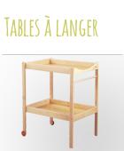 Table à langer pas cher
