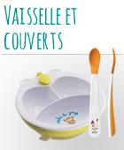 Vaisselle et couverts bébé pas cher