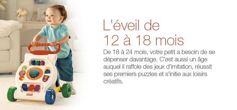 De 12 18 mois b b et pu riculture for Bureau bebe 18 mois