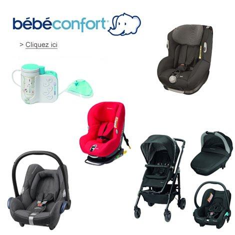D�couvrez les si�ges auto et poussettes B�b� Confort