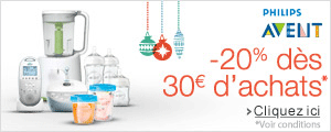 Philips AVENT : -20% d�s 30� d'achats