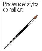 Pinceaux et stylos pour nail art