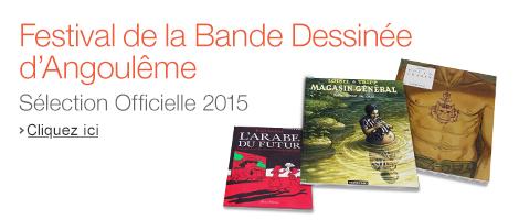 42e Festival de la Bande Dessinée d'Angoulême : Sélection Officielle 2015