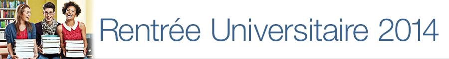 Rentrée universitaires 2014 : livres et manuels