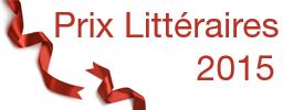 Prix Littéraires 2015