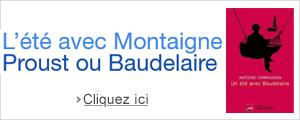 Livres : l'été avec Montaigne, Proust ou Baudelaire