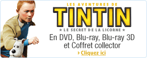 Tintin en DVD et Blu-ray