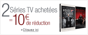 2 S�ries TV achet�es = 10� de r�duction