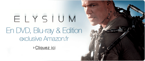 Elysium en DVD, Blu-ray & Blu-ray �dition eclusive Amazon.fr