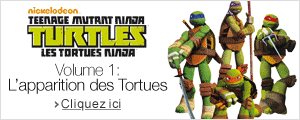 Tortues Ninja - Volume 1 : l'apparition des Tortues en DVD & Blu-ray