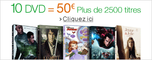 10 DVD = 50 euros